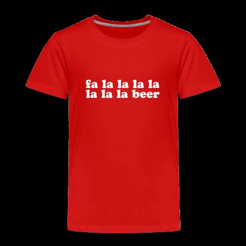 Beer Funny Christmas - Toddler Premium T-Shirt