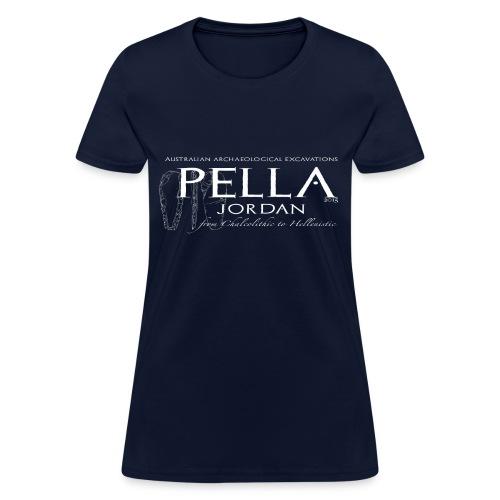 T-shirt for the 2015 season of excavations at Pella, Jordan (female) - Women's T-Shirt