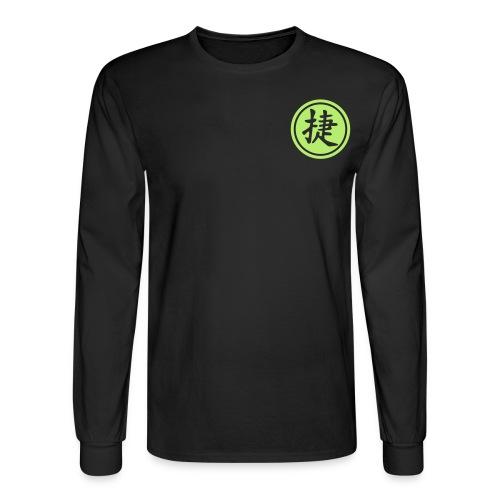 Asahi LNGSLVE (ONLY IN BLACK/WHITE) - Men's Long Sleeve T-Shirt