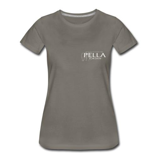 Logo T-shirt for the 2015 season of excavations at Pella, Jordan (female) - Women's Premium T-Shirt
