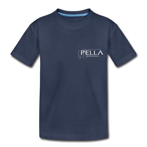 Logo T-shirt for the 2015 season of excavations at Pella, Jordan (kids) - Kids' Premium T-Shirt