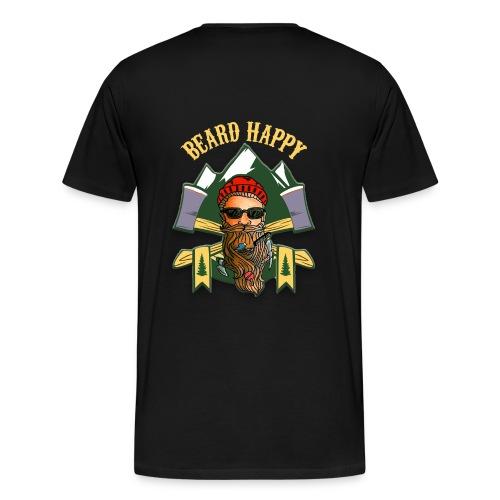 2 Sided Retro Shirt - Men's Premium T-Shirt