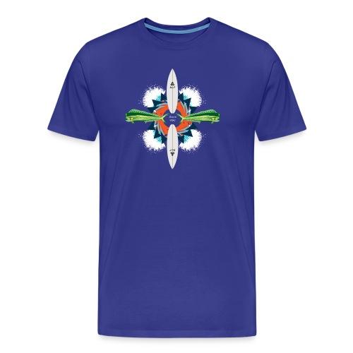 BLP Waves - Men's Premium T-Shirt