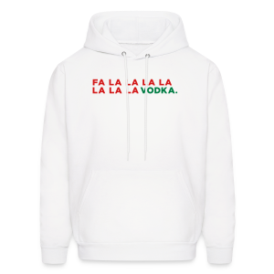 Vodka Christmas Song - Men's Hoodie