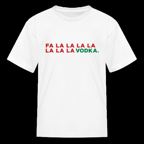 Vodka Christmas Song - Kids' T-Shirt