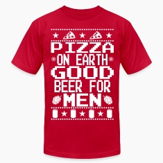 Pizza On Earth Ugly Shirt T-Shirts