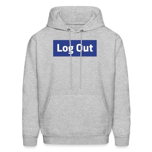 Log Out - Hoodie - Men's Hoodie