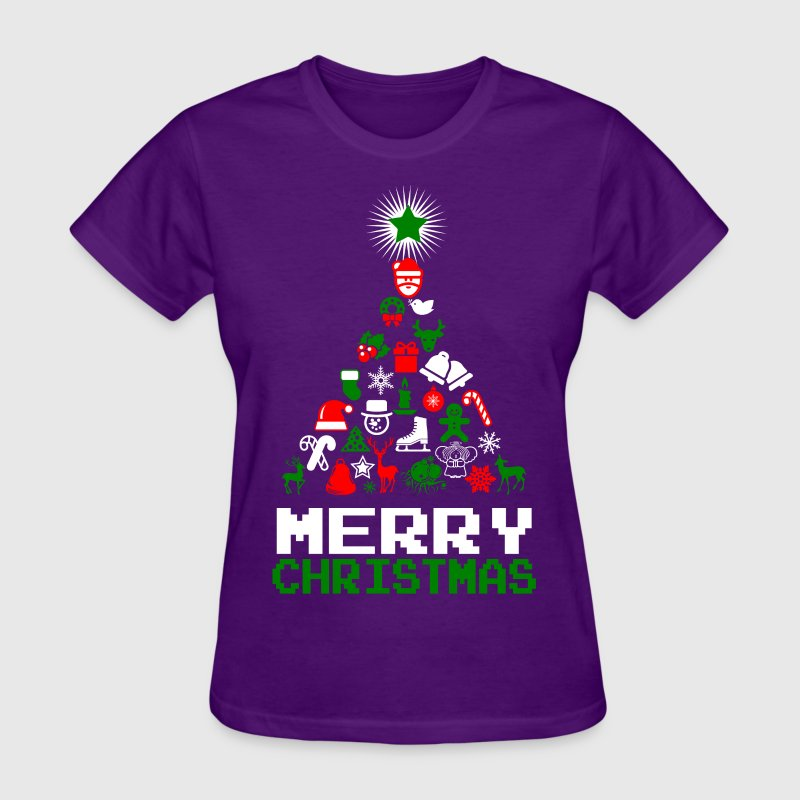 Ornament merry christmas tree t shirt spreadshirt Merry christmas t shirt design