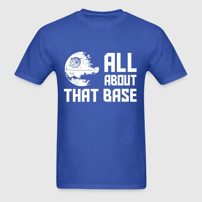 Funny Star Wars all about that base - Men's T-Shirt