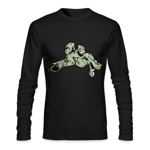 Hand Long Sleeve - Men's Long Sleeve T-Shirt by Next Level
