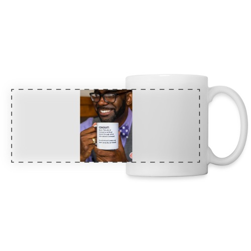 Conduit by Jon Goode Book Cover Coffee Mug - Panoramic Mug
