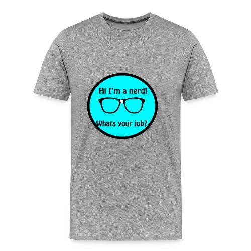 Nerdy shirt - Men's Premium T-Shirt