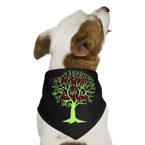 Go Green or Go Home for dogs - Dog Bandana