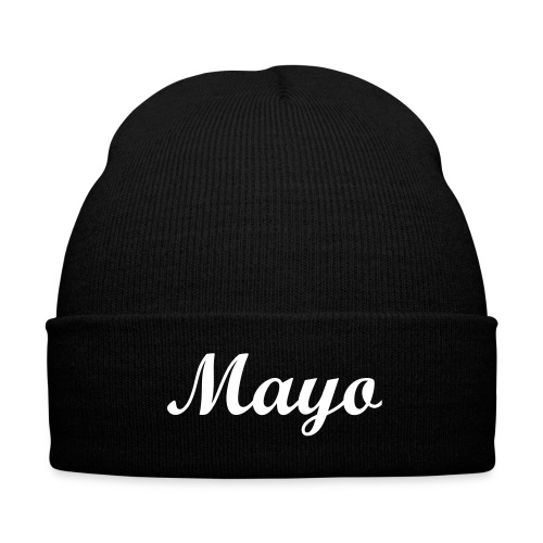Mayo beanie from Get Hard - Knit Cap with Cuff Print