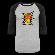 T-Shirts ~ Baseball T-Shirt ~ Psychedelic Mushroom - Baseball Tee