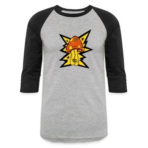 Psychedelic Mushroom - Baseball Tee - Baseball T-Shirt