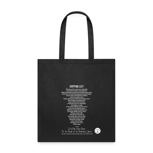 Good Plain Xmas Dinner For the People of the Hawkesbury District  - Tote Bag