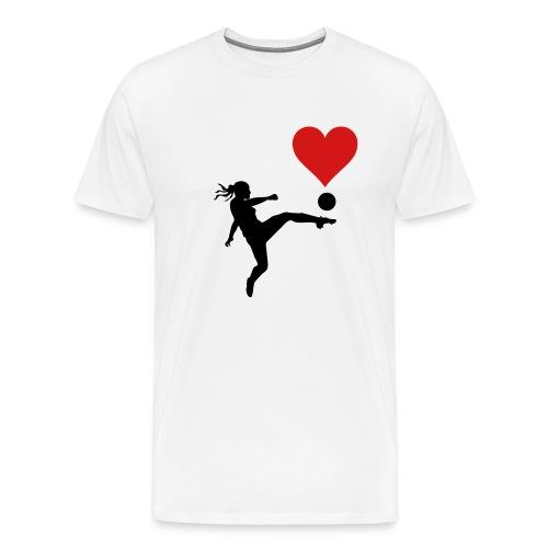 Football Lover - Men's Premium T-Shirt
