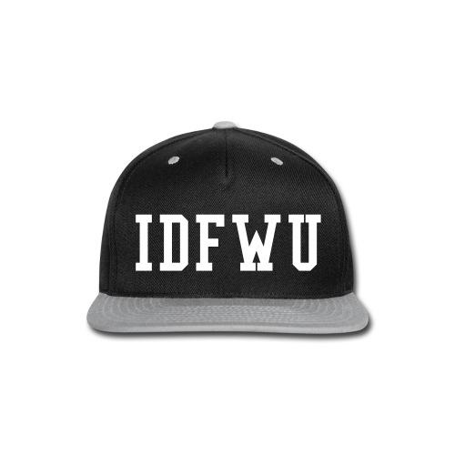 I D F W U SNAPBACK - Snap-back Baseball Cap