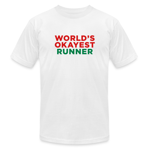 World's Okayest Runner - Men's  Jersey T-Shirt