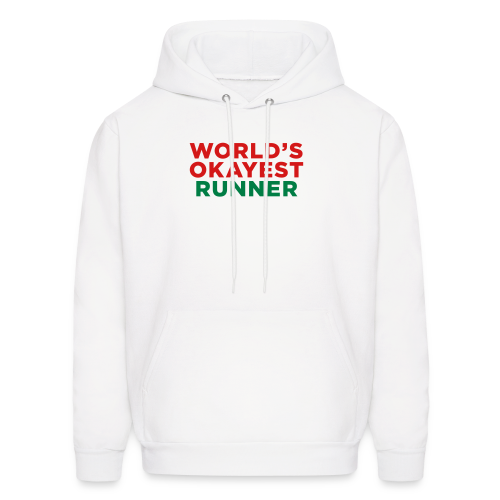 World's Okayest Runner - Men's Hoodie