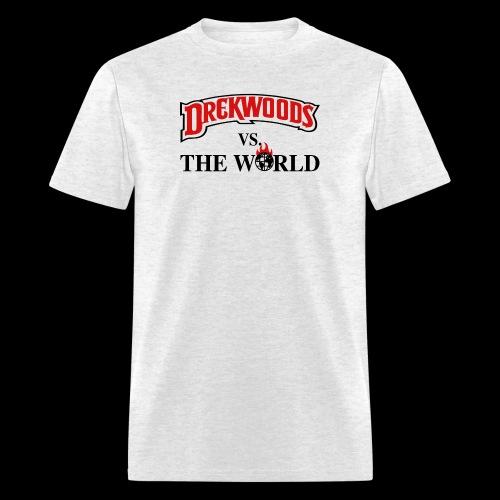Drek Woods vs Da World - Men's T-Shirt