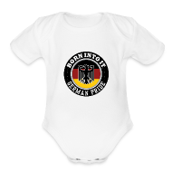Baby Bodysuits ~ Baby Short Sleeve One Piece ~ german