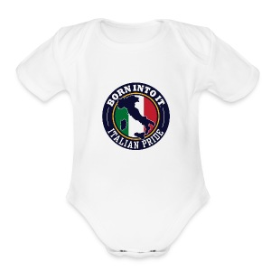 italy - Short Sleeve Baby Bodysuit