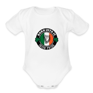 ireland - Short Sleeve Baby Bodysuit