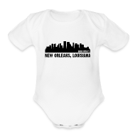 Baby Bodysuits ~ Baby Short Sleeve One Piece ~ new orleans, louisiana