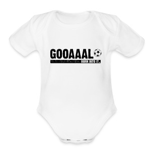 goal - Short Sleeve Baby Bodysuit