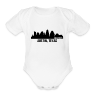Baby Bodysuits ~ Baby Short Sleeve One Piece ~ austin, texas
