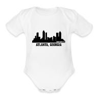 Baby Bodysuits ~ Baby Short Sleeve One Piece ~ atlanta, georgia