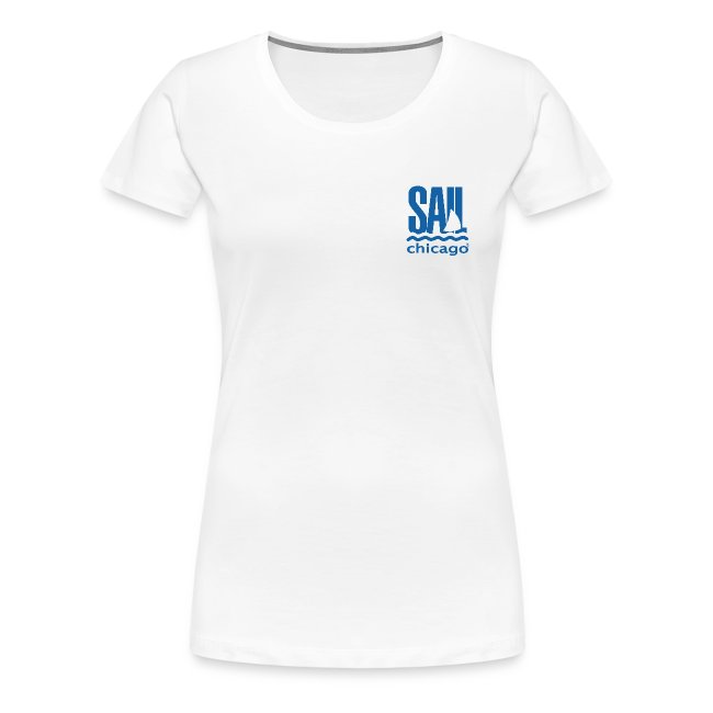 Women's T-Shirt White V1