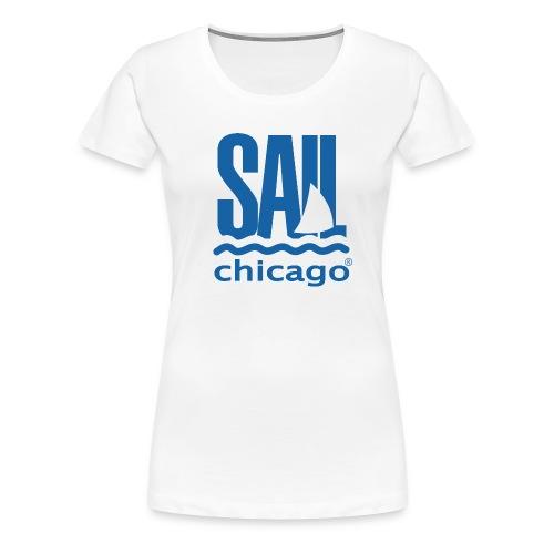 Women's T-Shirt White V2 - Women's Premium T-Shirt