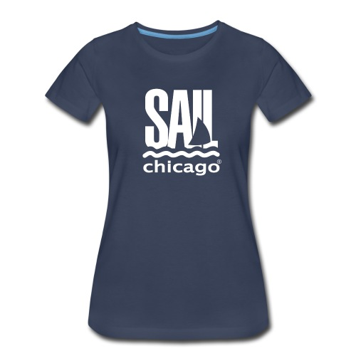 Women's T-Shirt Navy V2 - Women's Premium T-Shirt