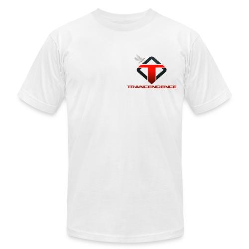 T-White Men (Slim Fit | Casual) - Men's Fine Jersey T-Shirt
