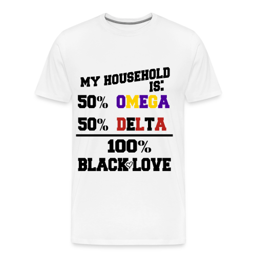 OMEGA and DELTA Love - Men's Premium T-Shirt