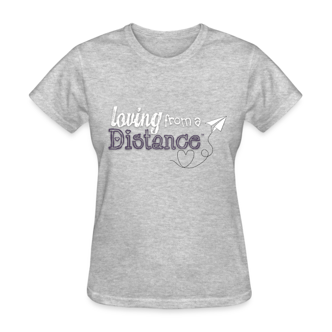 4369a5f9792a Loving From A Distance | Womens Basic Tee *more colors - Womens T-Shirt