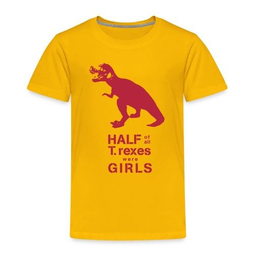 T.rex Toddler Tee - Toddler Premium T-Shirt