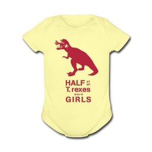 T.Rex Baby   - Short Sleeve Baby Bodysuit