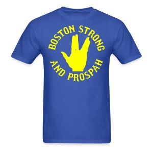 Boston Strong and Prospah - Men's T-Shirt