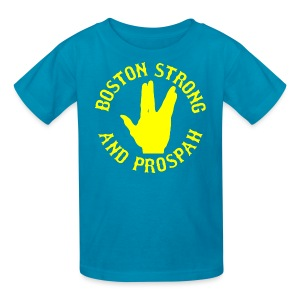 Boston Strong and Prospah - Kids' T-Shirt