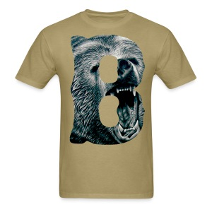 A Big Bruin B - Men's T-Shirt
