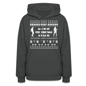 All I Want For Christmas Are Gain Funny Ugly Sweater - Women's Hoodie