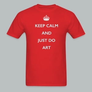 KeepCalm and Just DO Art - Men's T-Shirt