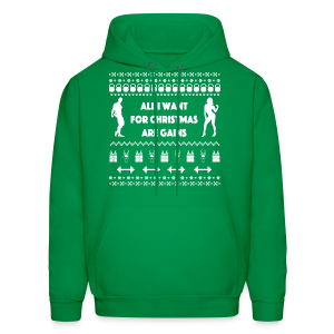 All I Want For Christmas Are Gain Funny Ugly Sweater - Men's Hoodie
