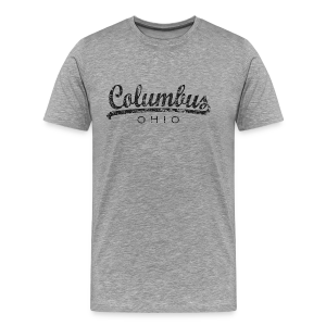 Columbus, Ohio T-Shirt (Men/Gray) Classic - Men's Premium T-Shirt