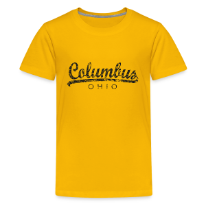 Columbus, Ohio T-Shirt (Children/Yellow) Classic - Kids' Premium T-Shirt