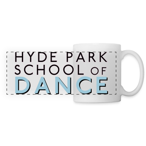 Hyde Park School of Dance Panoramic Logo Mug - Panoramic Mug